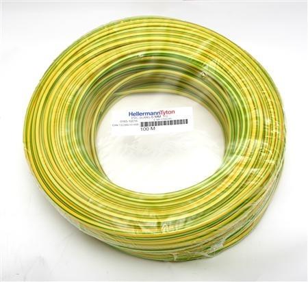 gul slang för elkabel
