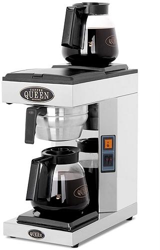 kaffebryggare dubbla kannor