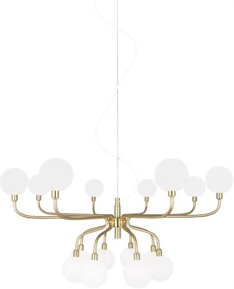 Köp Taklampa Mandrino mässing Globen Lighting online ELDIREKT