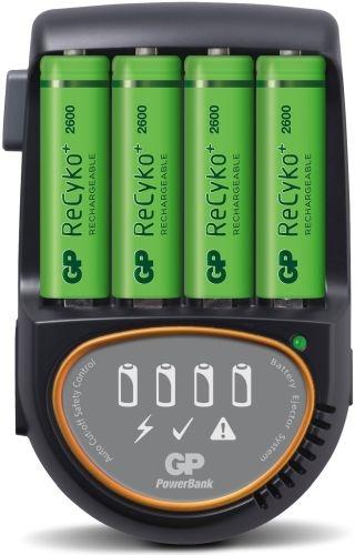 Köp GP H500 Snabbladdare +4st 2600 AA online ELDIREKT
