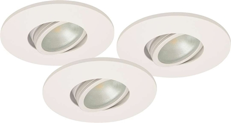 MD-350 LED spotlight 3-Pack 2700K DIM W