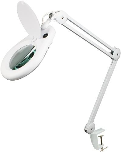 bordslampa med förstoring