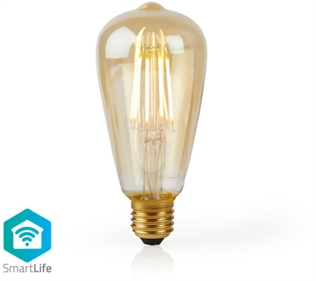 SmartLife LED filament E27 ST64 5W (40W)
