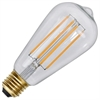 LED-lampa E27 ST64 Soft Glow Dimmable