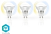 SmartLife 3-pack LED GU10 Dim2Warm 5W (50W)