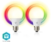 Smartlife LED E27 6W RGBW 2-pack (40W)
