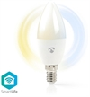 SmartLife LED kronljus 4,5W Dim2warm (35W)