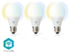 SmartLife LED E27 9W Dim2Warm 3-Pack