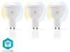 SmartLife LED GU10 4,5W Dim2Warm 3-Pack (35W)
